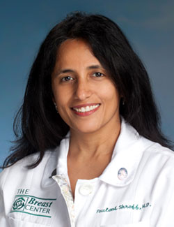 Paulomi S. Shroff, MD, FACS, of The Philip Israel Breast Center